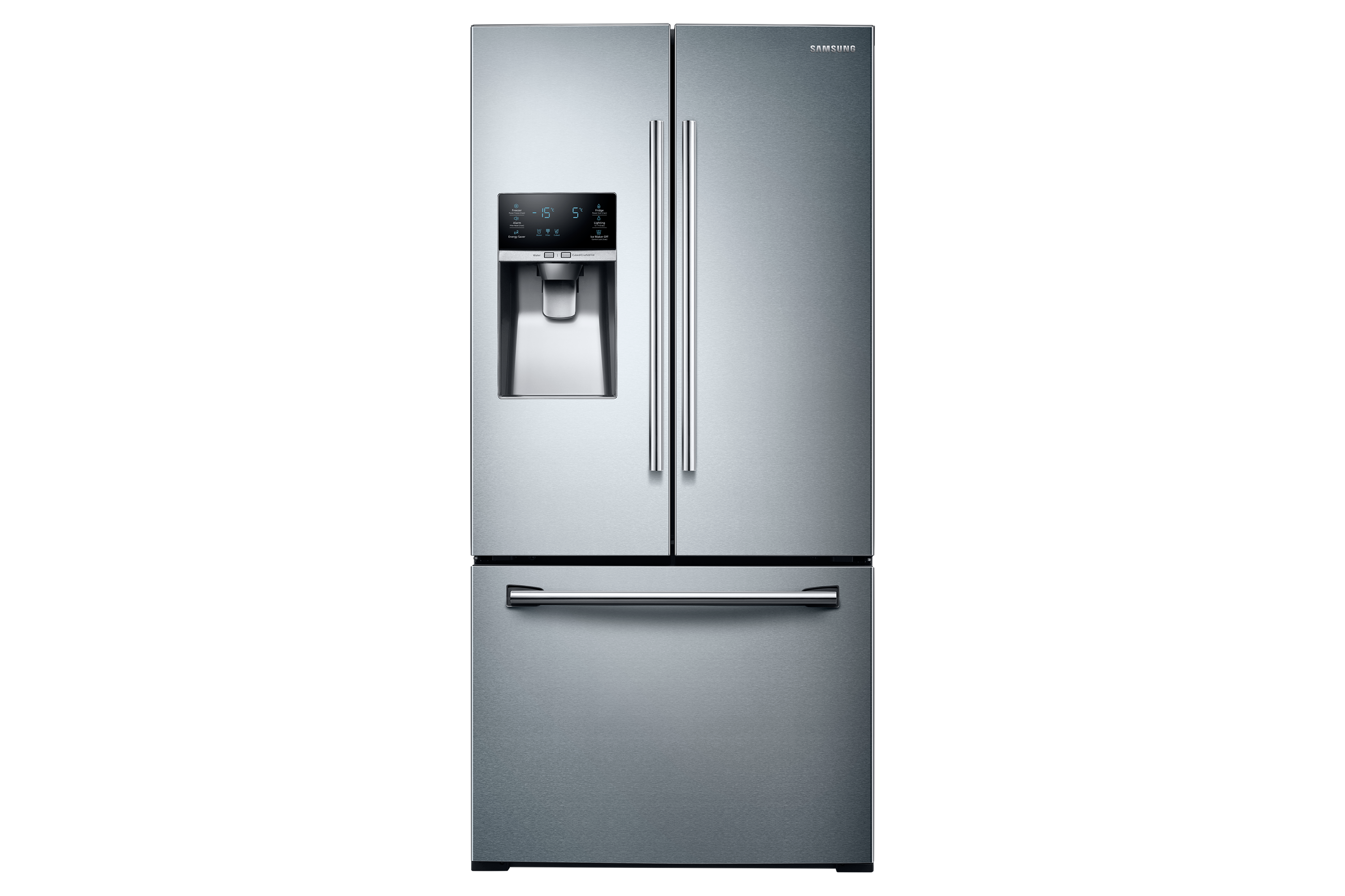 "RF26J7500SR French Door Refrigerator with 33"" Width Design, 25.5 cu. ft."