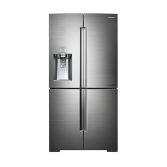 CHEF COLLECTION RF9900 34 cu.ft 4-Door French Door Refrigerator (Platinum Brushed Stainless)