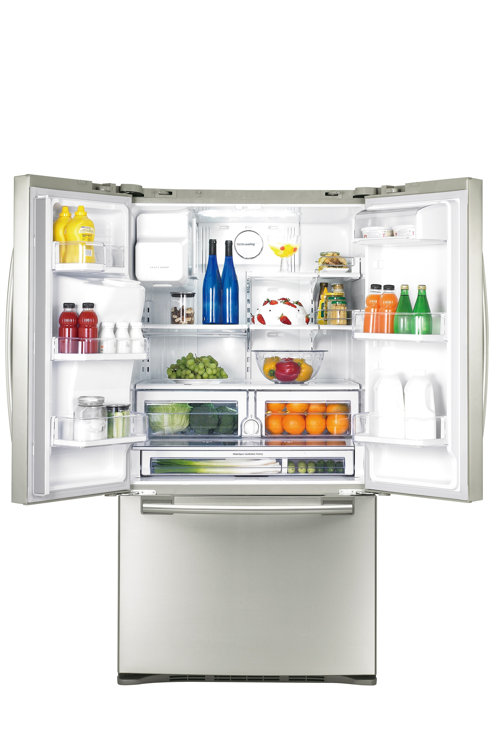 AW2-11 28.4 cu.ft 3-Door French Door Refrigerator (Stainless Steel)