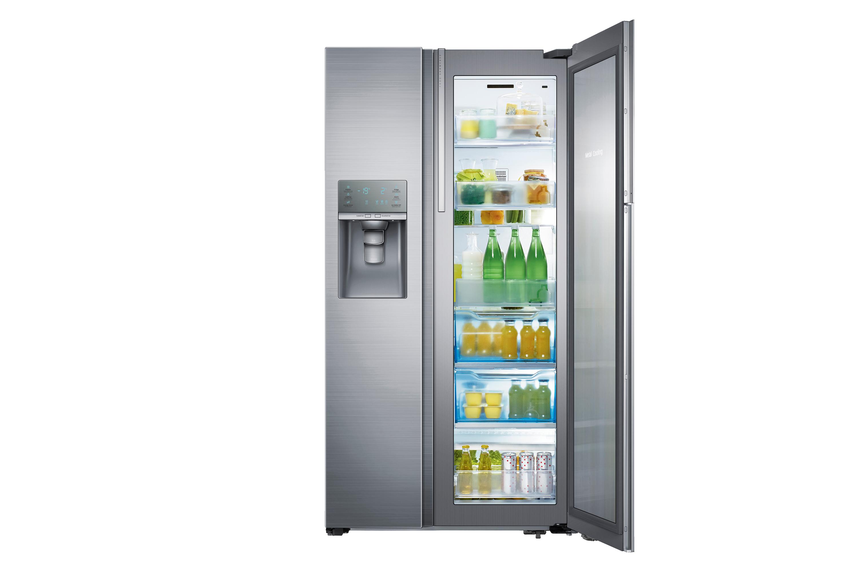 bc21f62271 RH22H9010SR Side-by-Side Refrigerator with Food Showcase