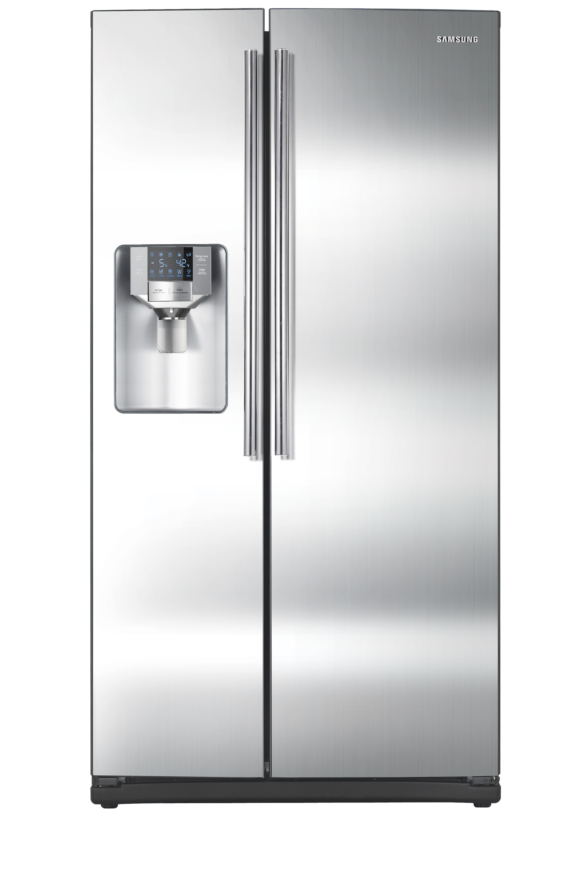 SSEDA 25.5 cu.ft Side-by-Side Refrigerator (Stainless Steel)