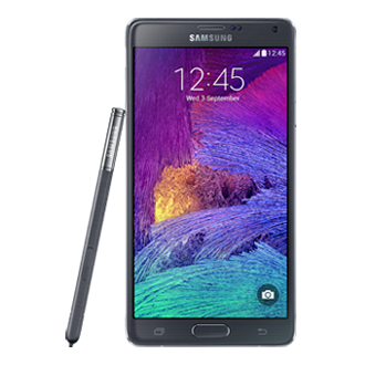 SM-N910W8 GALAXY Note 4 - Black<br/>