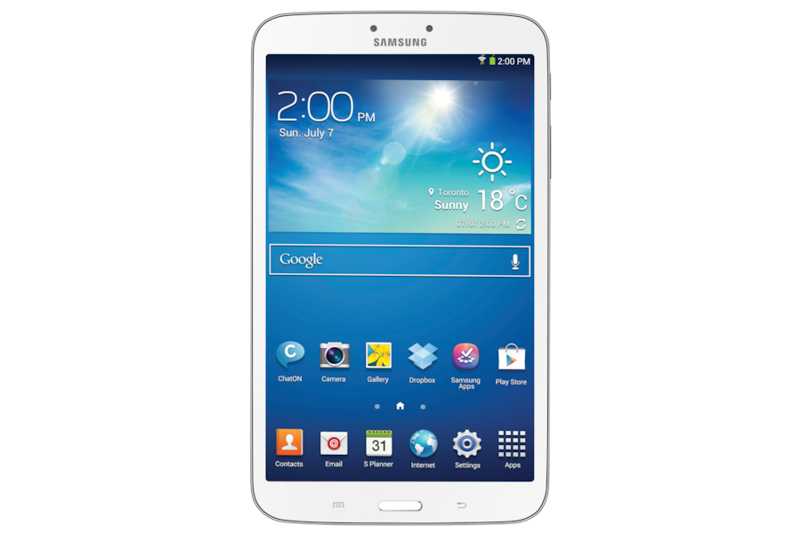 Galaxy Tab 3 (8.0) T310 Front White