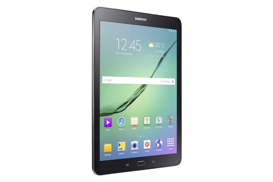 Galaxy Tab S2 (9.7) T813 L Perspective Black
