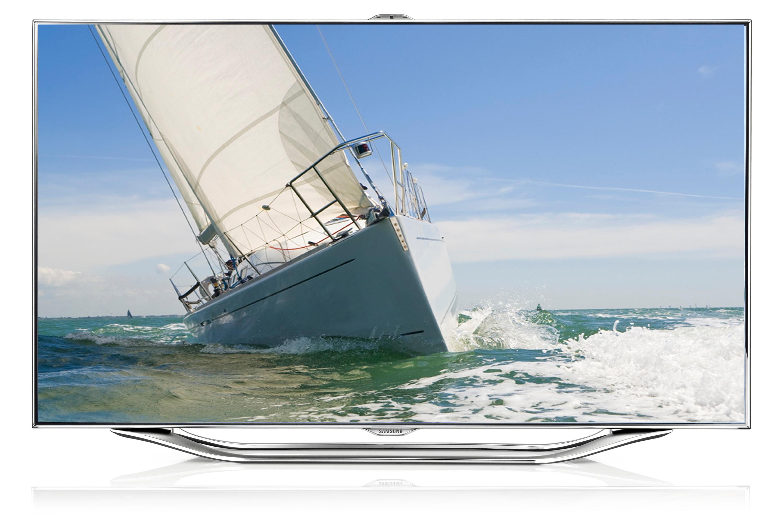 "46"" 8000F Series smart 3D 1080p slim LED TV"
