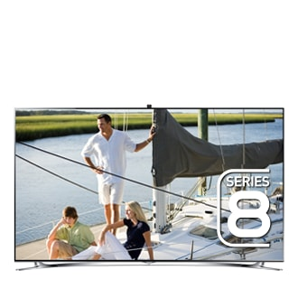 55 Full HD Flat Smart TV F8000 Series 8