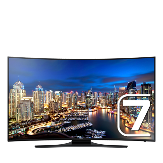 "UN55HU7250F 55"" HU7250 Series Curved UHD TV (2014)"