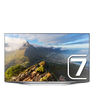 60 Full HD Flat Smart TV H7150 Series 7