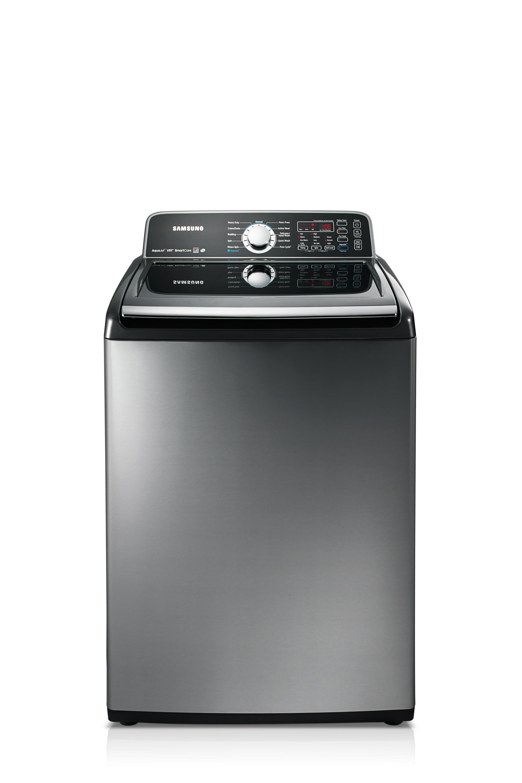 WA456DRHDSU 5.2 cu.ft Top Load Washer Stainless Platinum