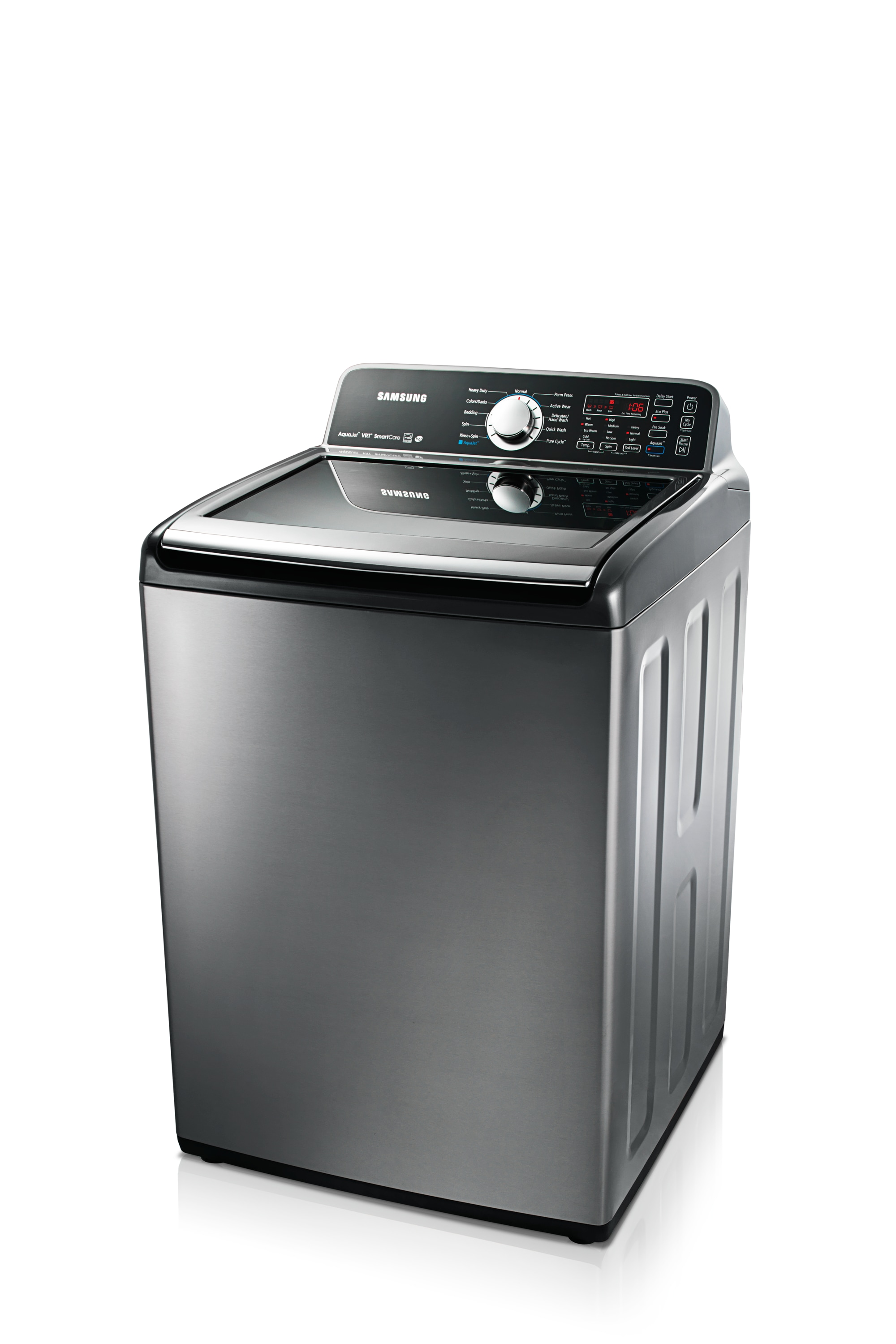 WA456DRHDSU 5.2 cu.ft Top Load Washer Stainless Platinum