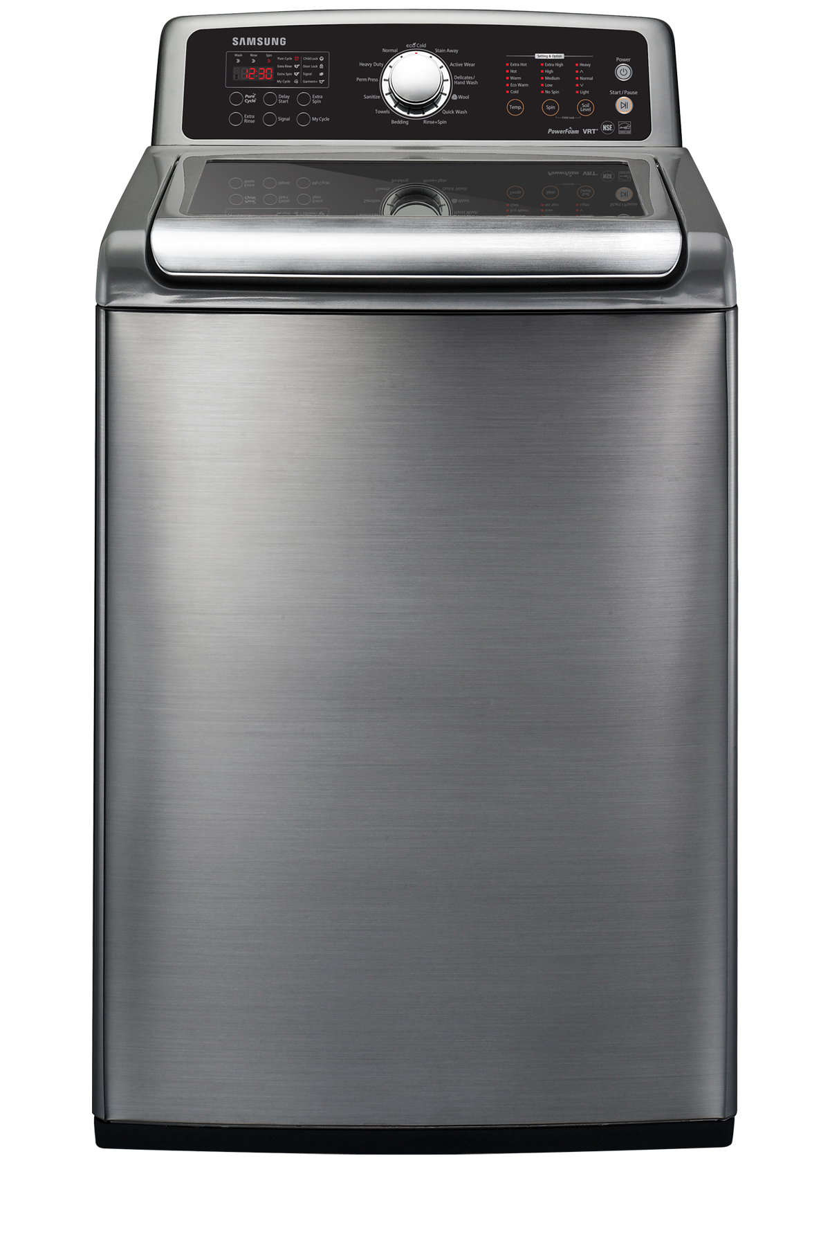 ... cu. ft. Top Load Washer Stainless Platinum | SAMSUNG Canada