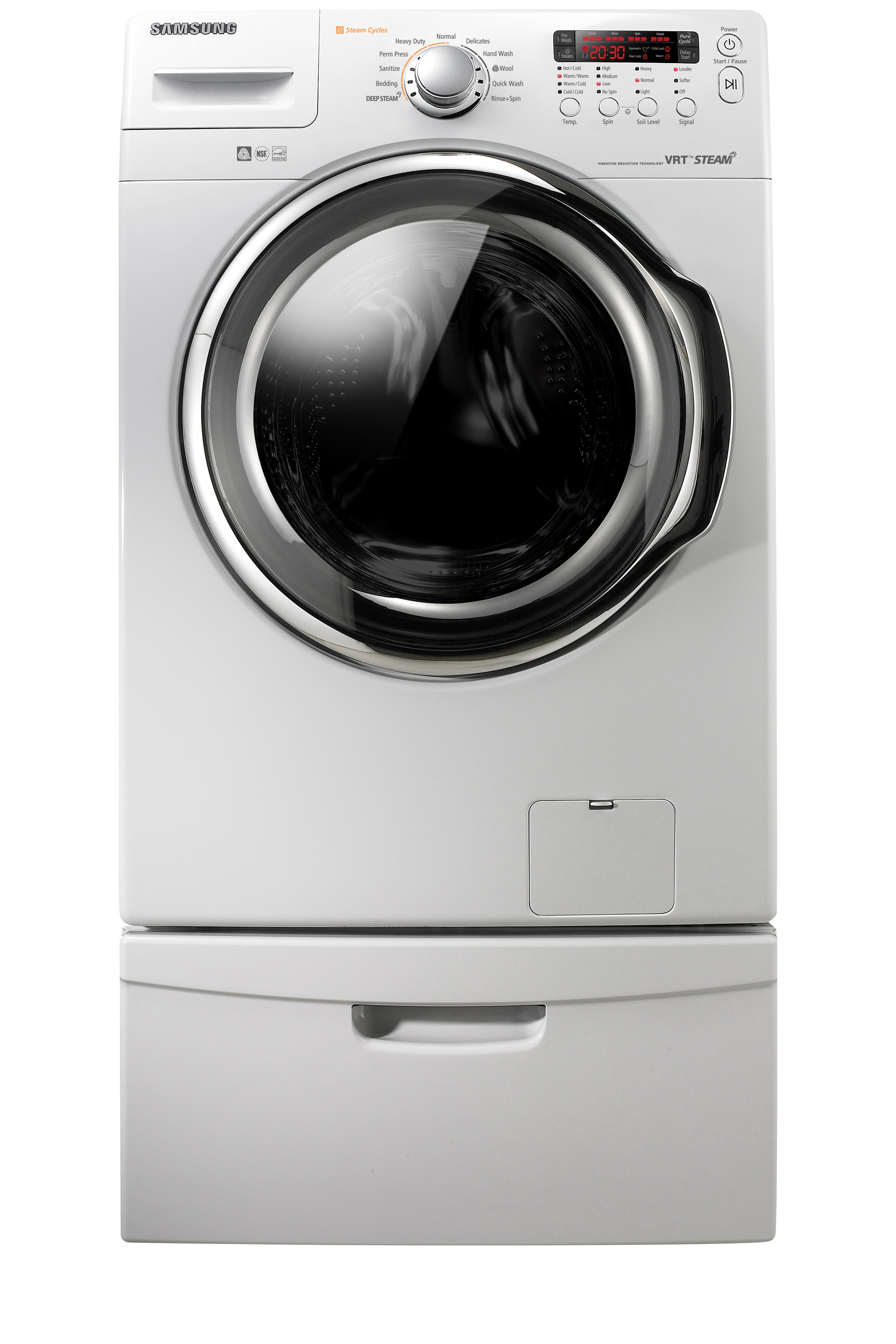 WF331ANW 4.3 cu. ft. Front Load Washer White