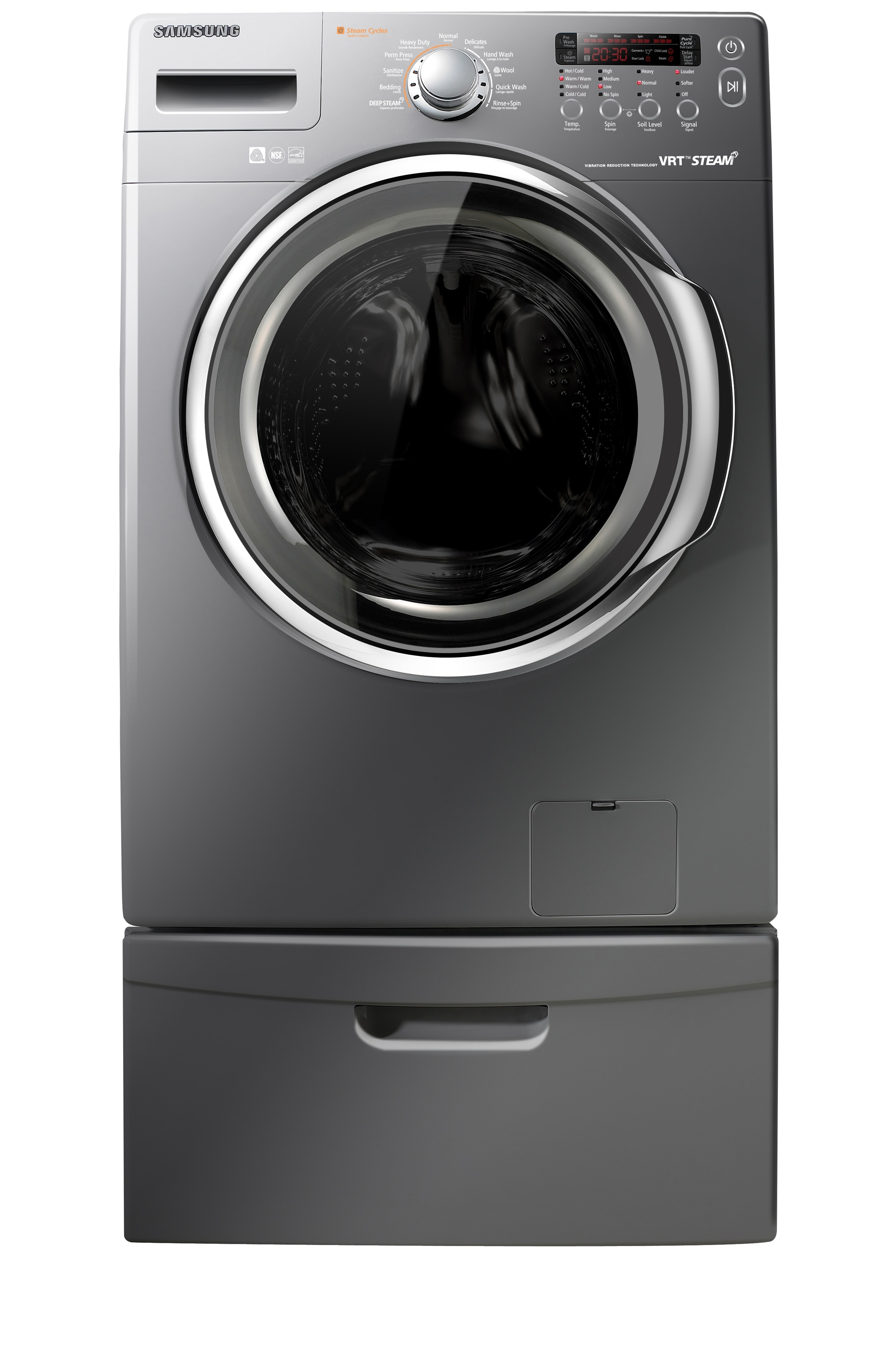 WF350ANG 4.3 cu. ft. Front Load Washer Stratus Grey