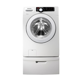 WF361BVBEWR 4.1 cu.ft. Large Capacity Front-Load Washer (White)