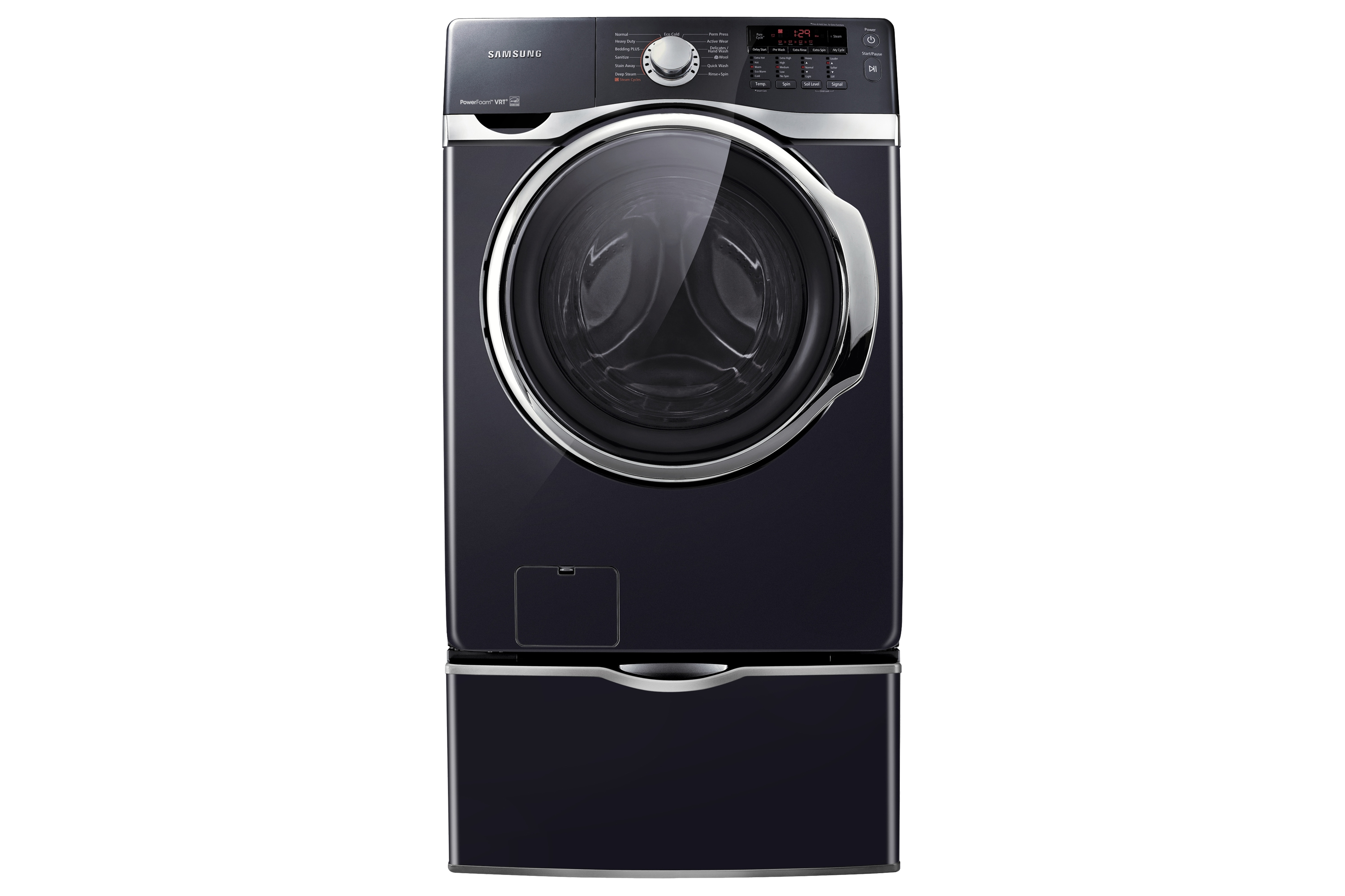 WF397UTPAGR 4.6 cu.ft Large Capacity Front-Load Washer (Charcoal)