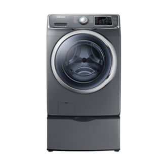 WF45H6100AP/A2 WF6100 5.2 cu.ft Front-Load Washer (Platinum)