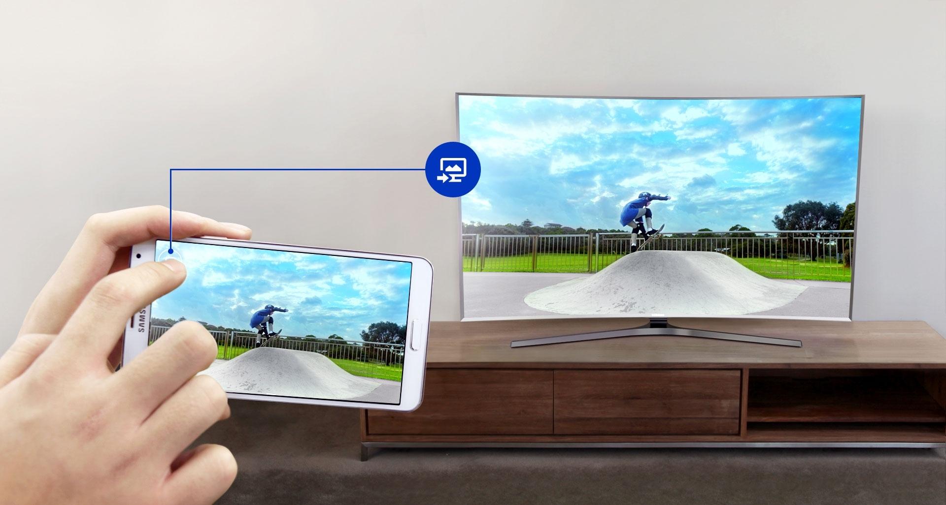 Votre téléviseur et vos appareils mobiles sont parfaitement synchronisés