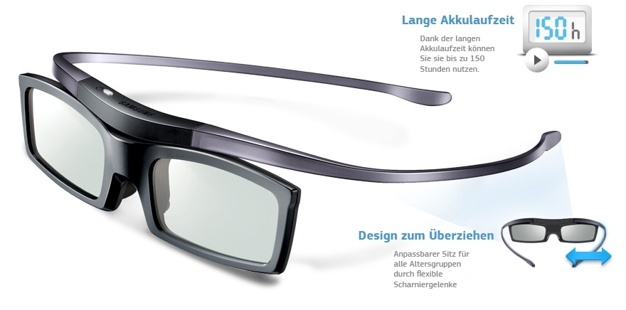 silhouette design 3d brille akku ssg 5100gb samsung schweiz. Black Bedroom Furniture Sets. Home Design Ideas