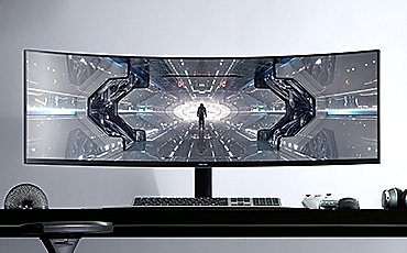 detail of G9 monitor