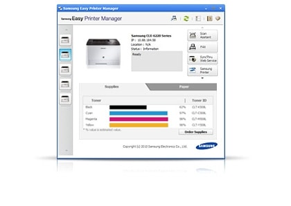Monitor and manage your printer easily