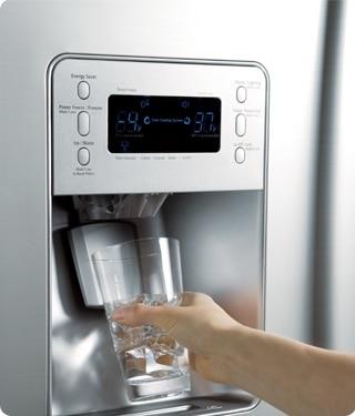 Frisches filtriertes Wasser immer zur Hand