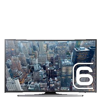 40 UHD 4K Curved Smart TV  JU6570 Series 6