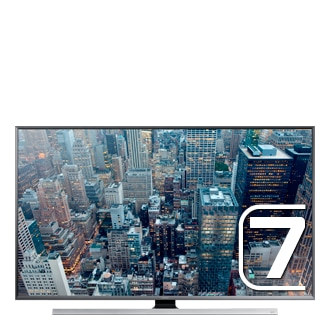 40 UHD 4K Flat Smart TV  JU7080 Series 7