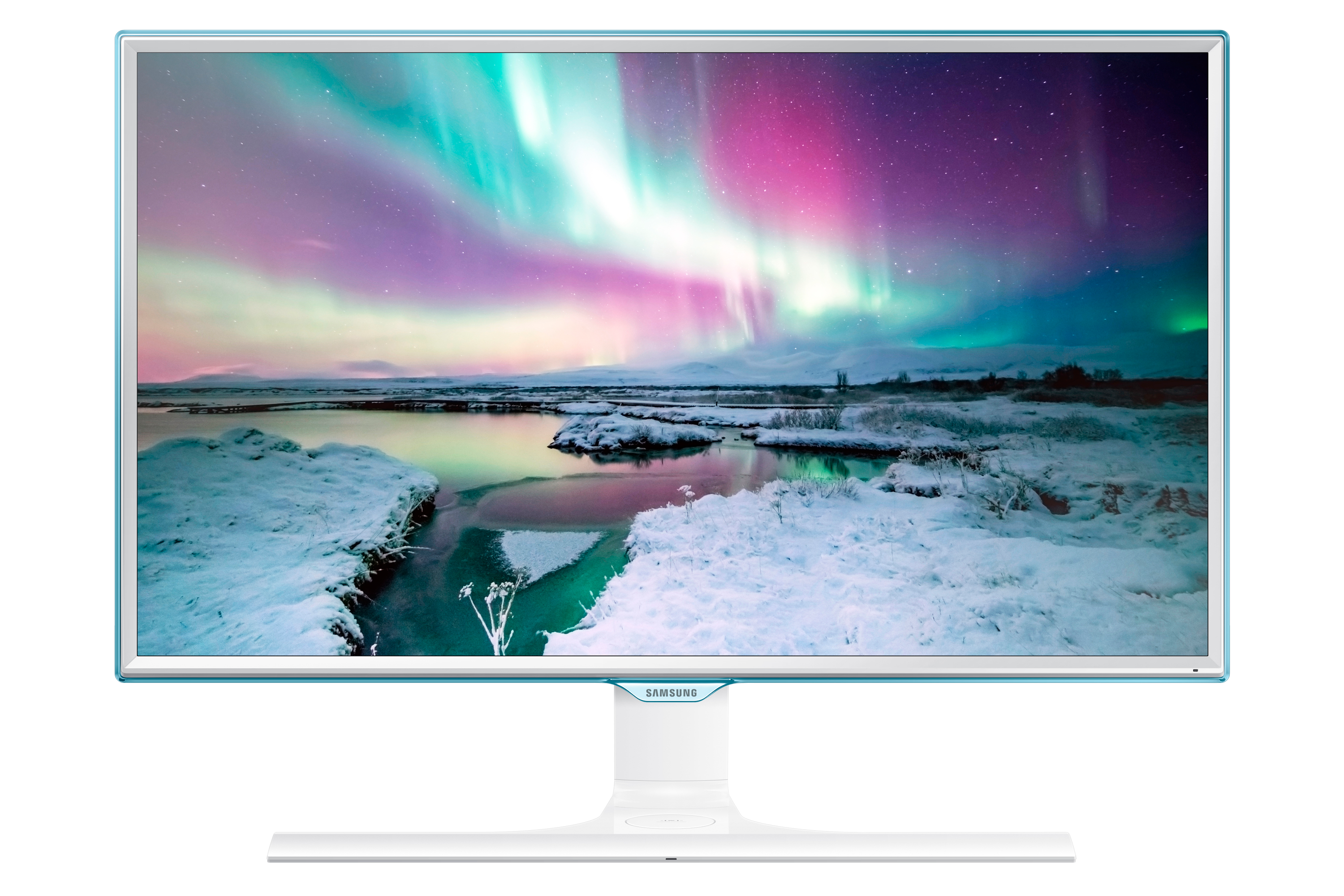"24"" LED Monitor LS24E370DL/EN mit Wireless Charging"