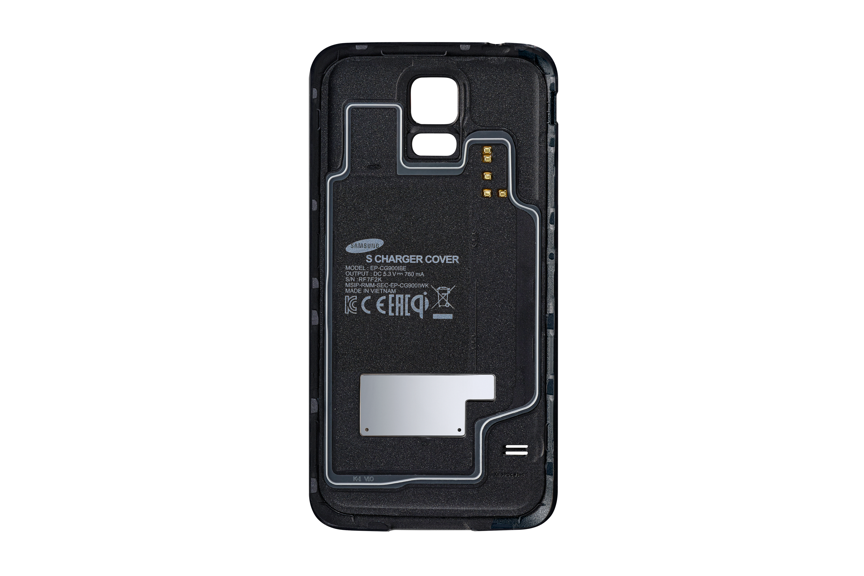 Wireless Charging Cover Galaxy S5
