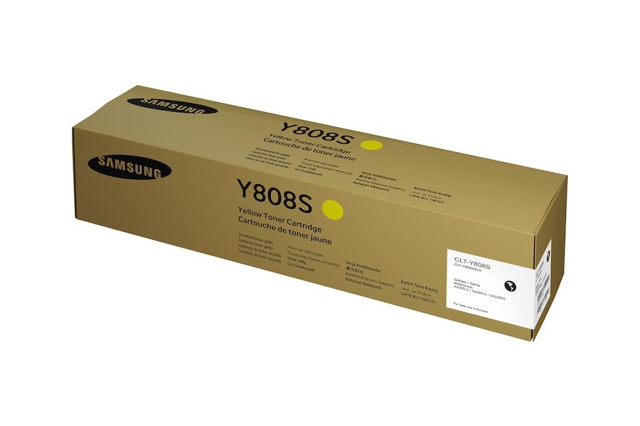 Toner Gelb  Y808S Box Yellow