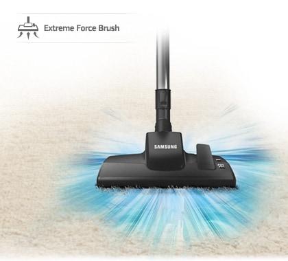 Une prise avancée pour un nettoyage parfait