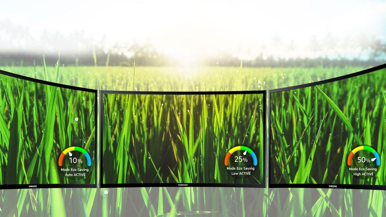 La technologie eco-saving de Samsung réduit la consommation d'énergie et l'impact environnemental
