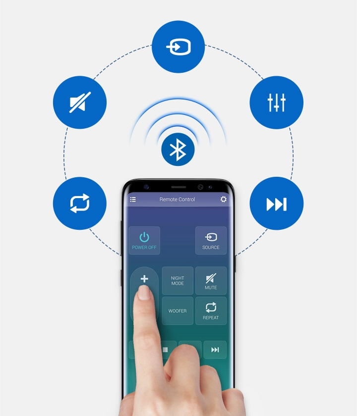 Application Samsung Audio Remote