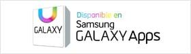 Banner de notificación de Galaxy App disponible para descarga