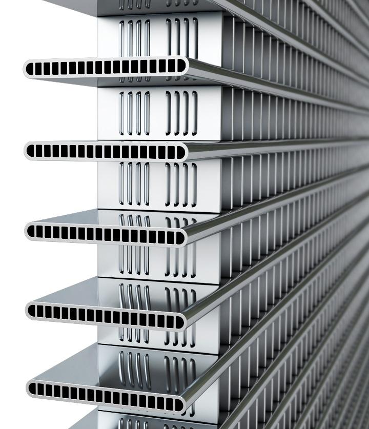 Mejor rendimiento del intercambiador de calor