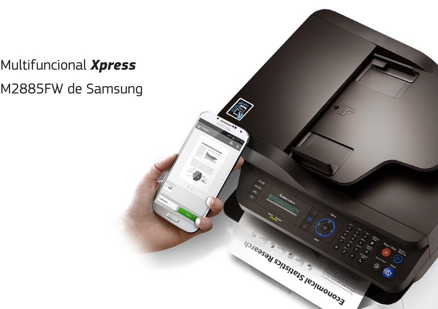 Multifuncional Xpress M2885FW de Samsung