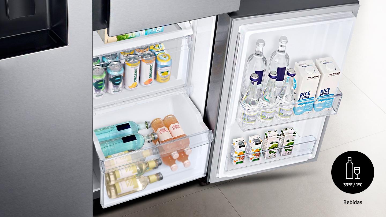 4 modos de refrigeración fáciles de cambiar