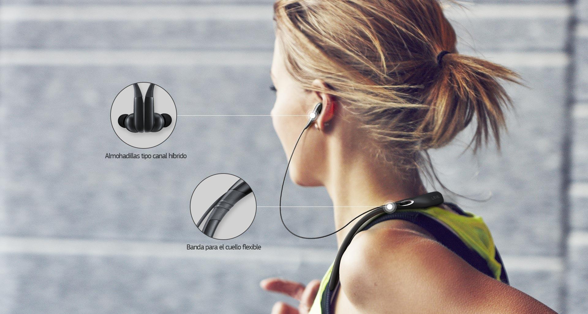Diseñado para la comodidad. Diseño tipo banda para el cuello y articulaciones de uretano para que los usuarios puedan poner o quitar su nivel U Pro con facilidad. Almohadillas tipo canal híbrido que brindan aislamiento acústico y un ajuste más cómodo. Para una experiencia auditiva aún más duradera.