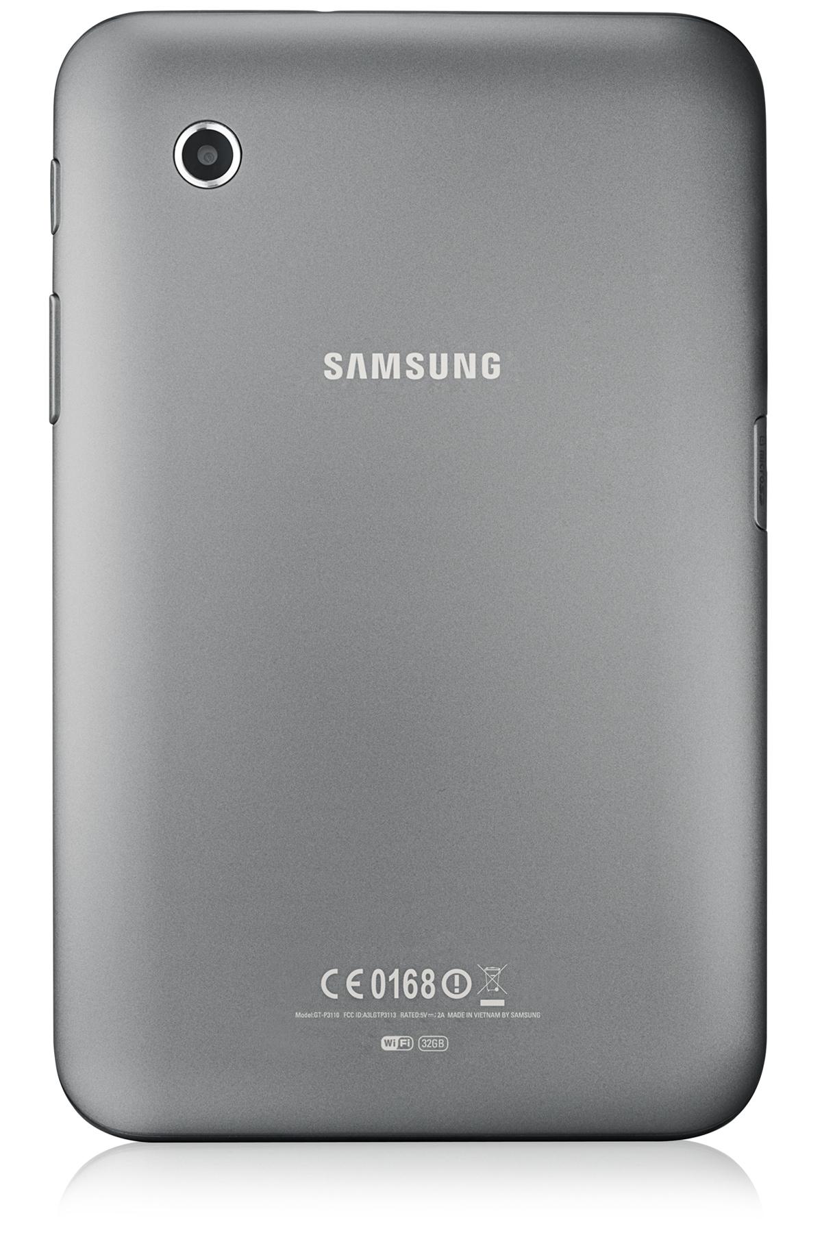 GT-P3110 Back (32GB) Silver
