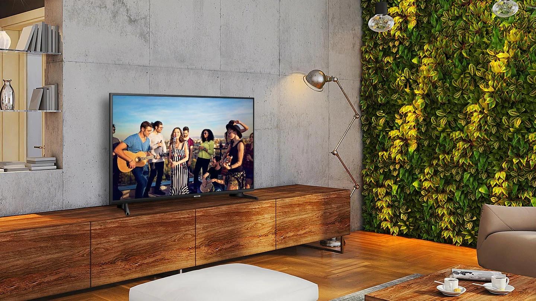"""Concéntrate en tus contenidos sin límites con el televisor Samsung 50"""" Smart TV"""