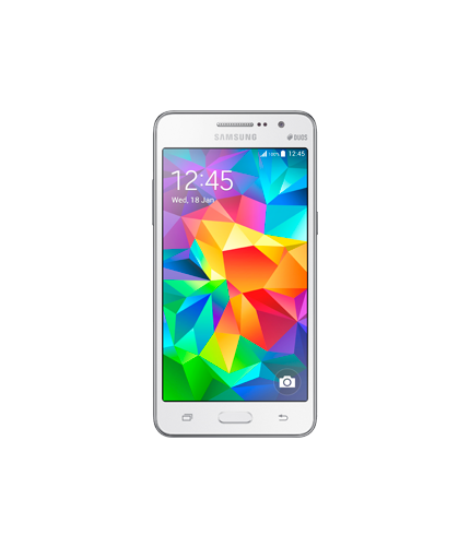 Samsung Grand Prime: Frente Blanco (DS)