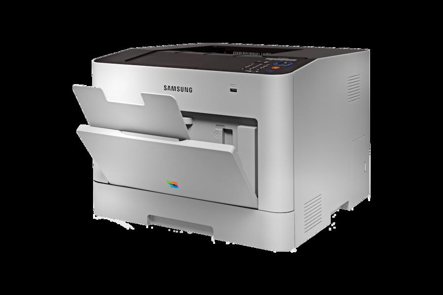 600dpi 24PPM Impresora Láser color CLP-680DW  680DW Right 25 Tray Gray