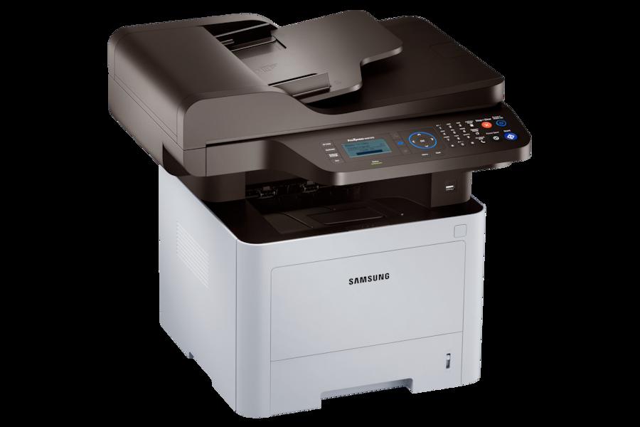Multifuncional ProXpress M4072FD M4072FD Ángulo Izquierdo Plata