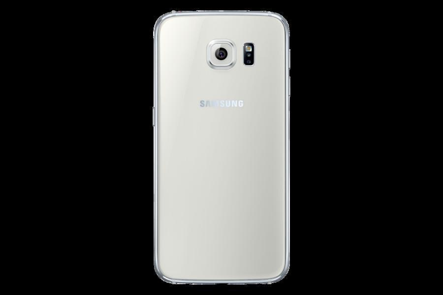 Galaxy S6 G920F Вид Cзади Белый