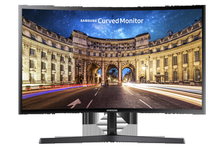 "27"" Samsung LC27F396FHUXEN - Prohnutý Full HD monitor"