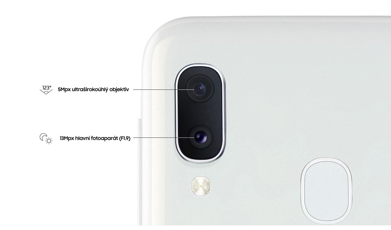 Dostaňte do vašich záběrů více s duálním fotoaparátem