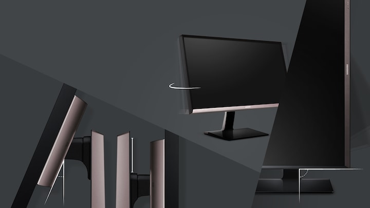 A professional ergonomic monitor for truly professional needs
