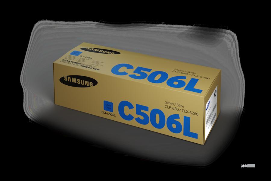 CLT-C506L  Azurový Toner (3,500 stránek) C506L Box Black