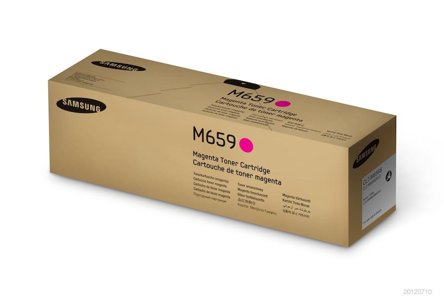 CLT-M659S  Purpurový Toner (20,000 stránek) M659S Box Silver