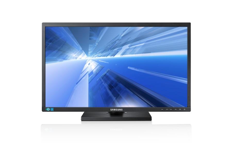 27 podnikový monitor FHD s pokročilými ergonomickými funkcemi S27C450D Front black